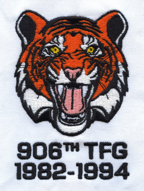 906th TFG embroidery