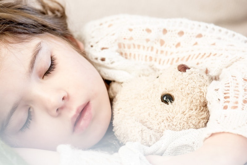 children getting enough sleep